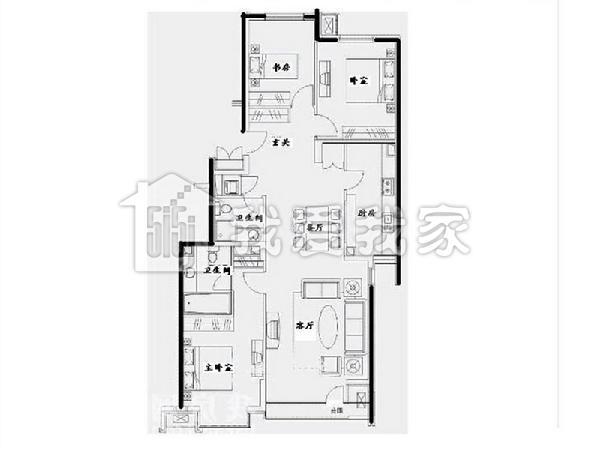 住房装修水电设计图
