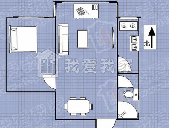 户型 户型图 平面图 595_450