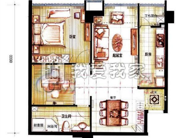 长15米宽10房屋结构设计图