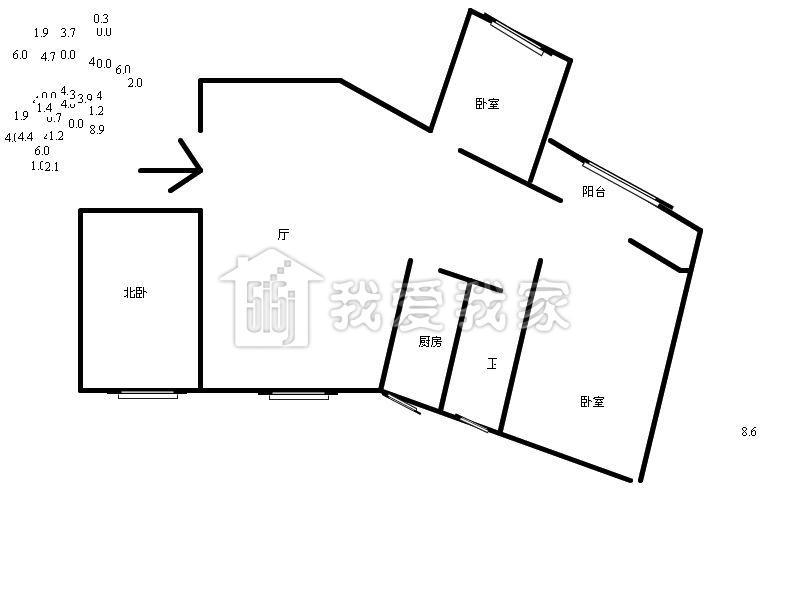 20平方一房一厅设计图展示