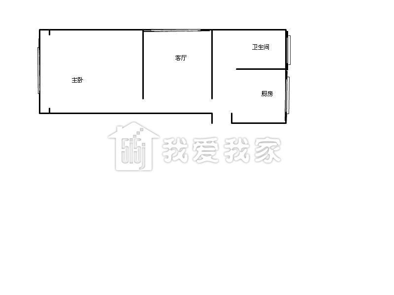对口新普陀 南北通户型 带个8平米正方形的厅 看房方便图片