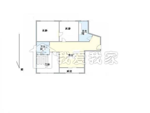 110个平方房屋设计图 自建