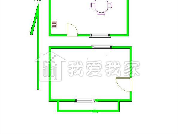 四间平房套间设计图展示
