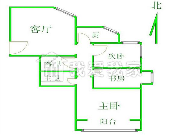 户型 户型图 平面图 600_450
