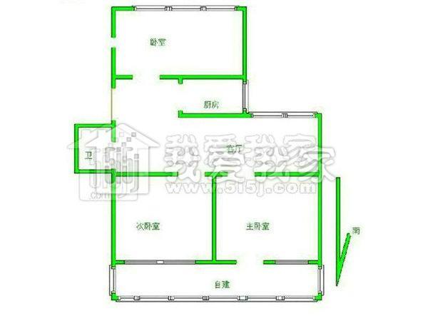 农村长方形长12米宽8米房屋设计图