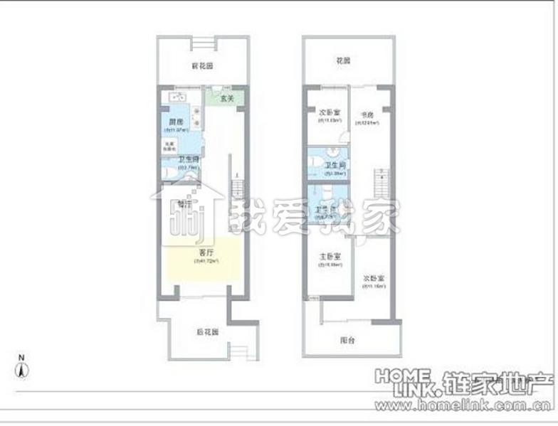 远洋风景4室2厅202平米1400万