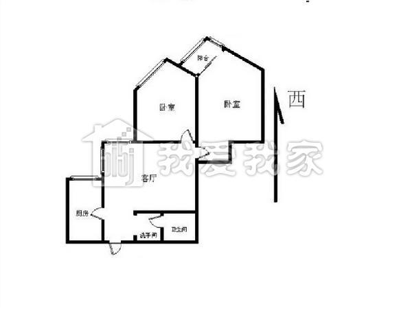 东北火炕平房设计图农村一层平房设计图北方农村