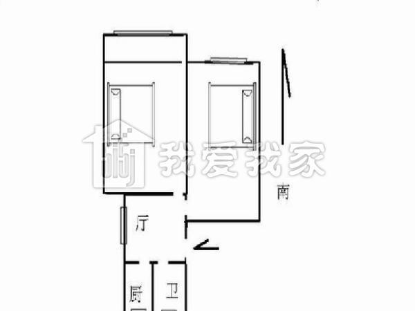 两房朝南 性价比超高,总价低     房屋基本概况: 房屋位于:五莲路凌河