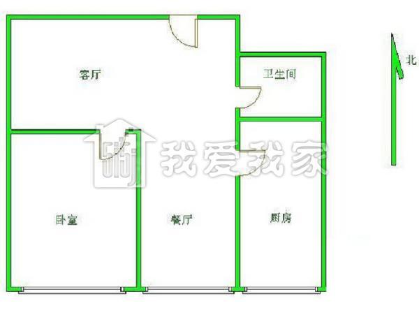田字型房屋设计图