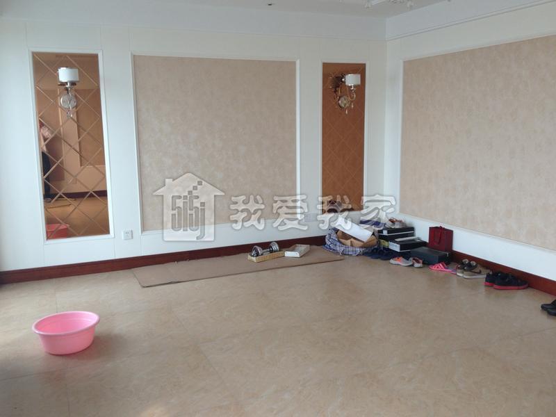 欧式风格客厅高本横幅油画