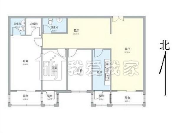 三间两层房子户型设计图纸展示