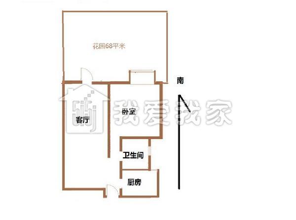 两房 一厅的 两层半设计图 平面图