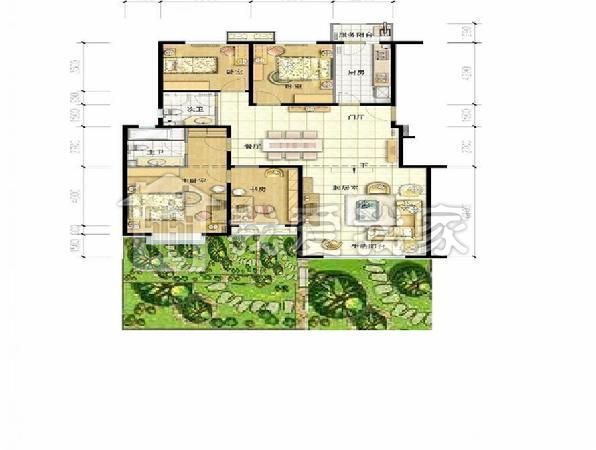 设计图分享 农村建房平面图设计图  未来农村建房子 就像城里买商品房