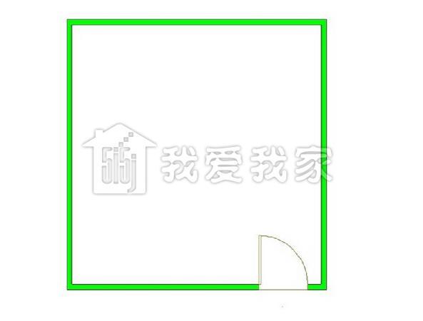 2,房子是开间户型,精装修,淡紫色的墙纸,实木的地板,水晶吊灯,乳白色