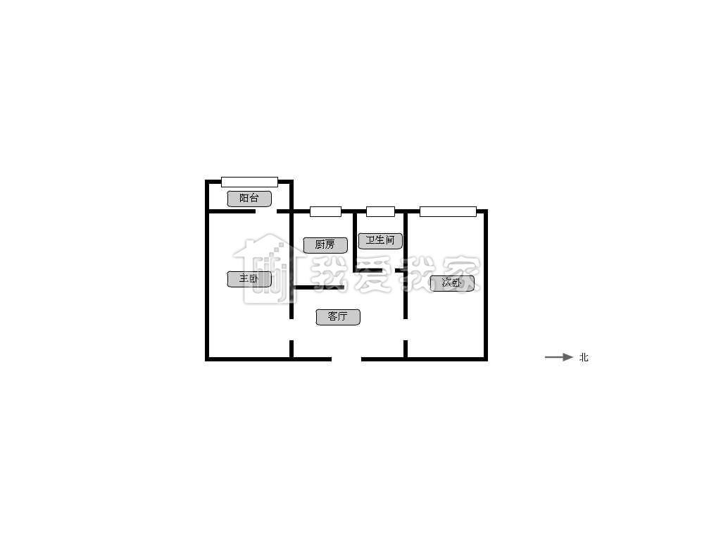 林业楼 房子格局方正 地铁一号线
