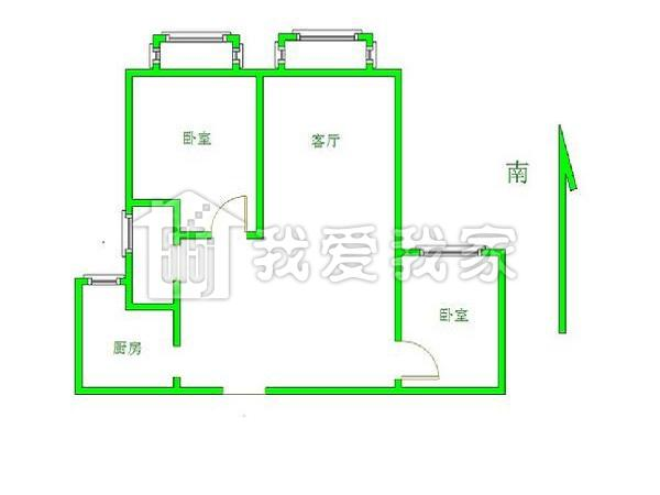 60平方米以内房子设计图