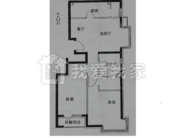 200平方朝南的房子平面设计图