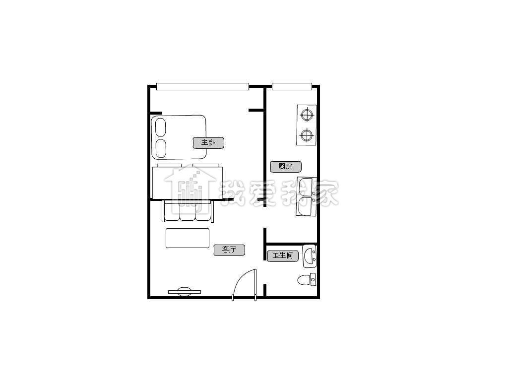 11米开间房子设计图