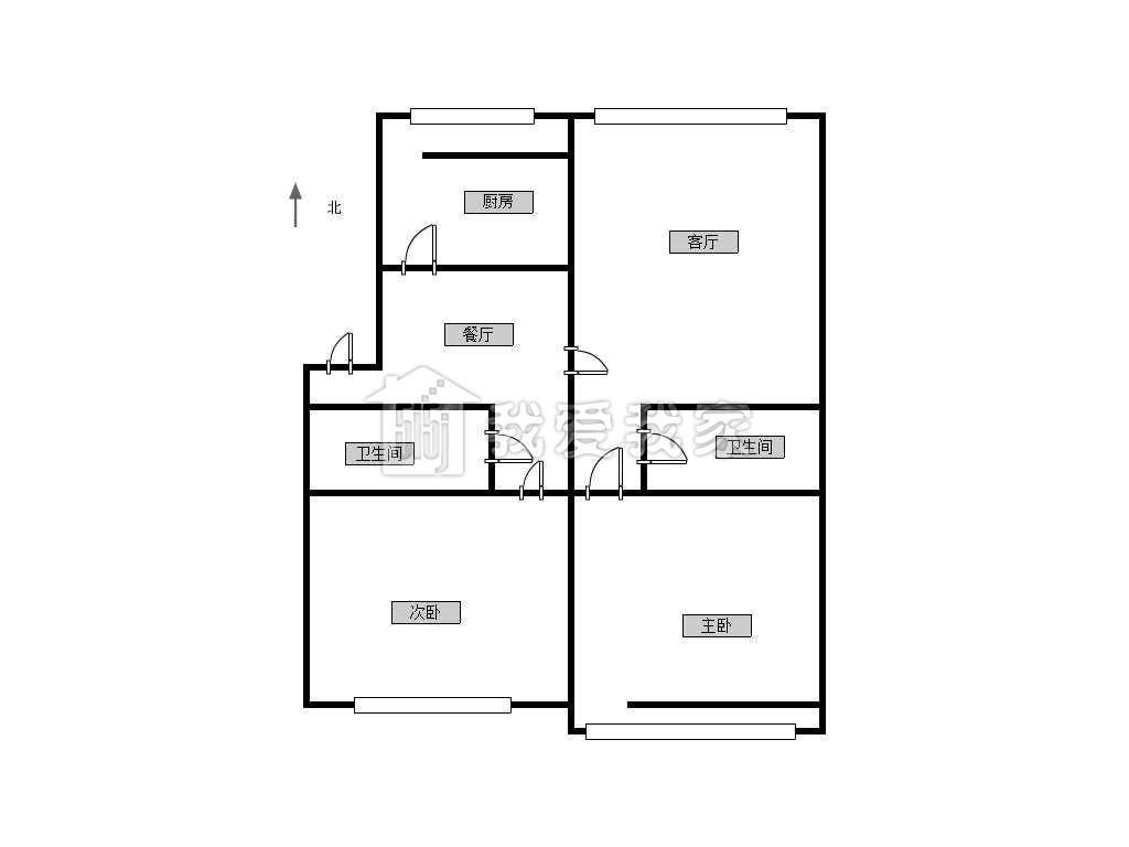 270平米楼房设计图