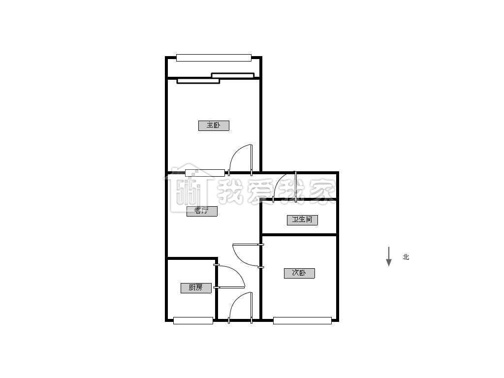 本小区主体结构为六层板楼,而此房为带有电梯的楼型,您完全不用再为爬