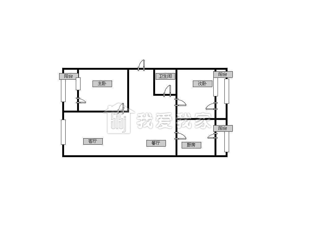 【尚东雅园】2室户型设计合理 实用价值高