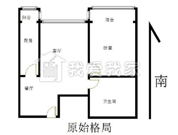 140平方房子结构图