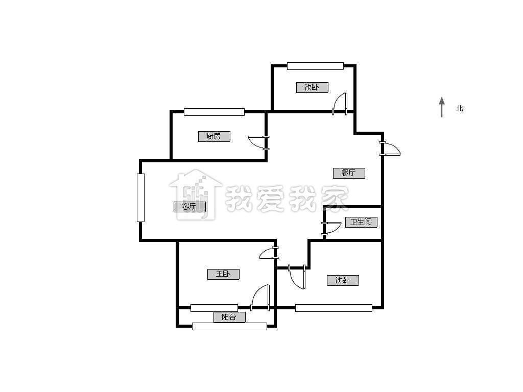 永和坊198平方米户型图