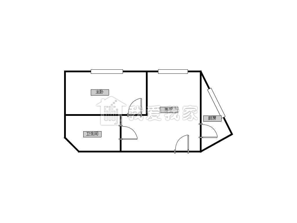 高楼层房子图简笔画