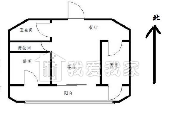 户型 户型图 简笔画 平面图 手绘 线稿 596_450