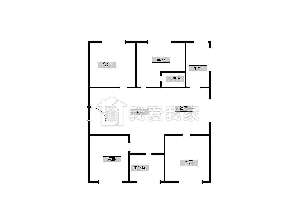 青岛市规划馆天正平面图