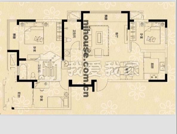 荣盛龙湖半岛-茉莉苑二手房_稀缺户型96.0万元 豪华