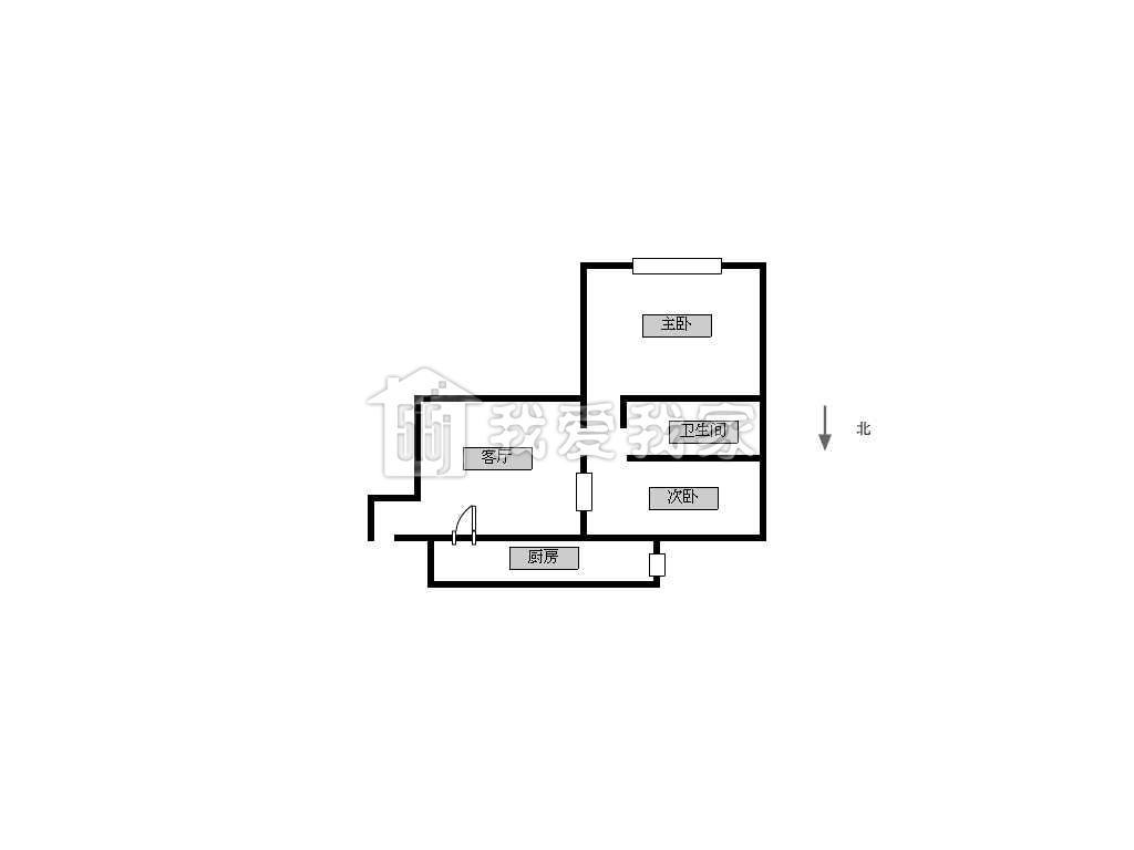 长岛花苑/长岛公寓租房_长岛花苑 实拍图 精装2房 房