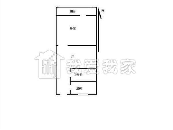 北京翠微路地区塔楼平面图