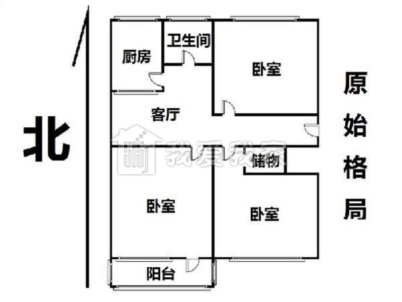 塔院迎春园二手房_牡丹园塔院小区三居室紧邻地铁