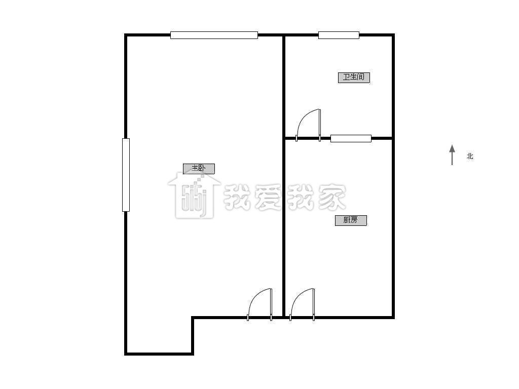 新中新村水电路,一室户,靠近3号赤峰站,朝南