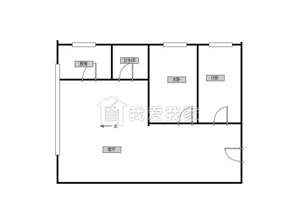 新建南路贵通润园租房_电梯高层 房子精装拎包入住
