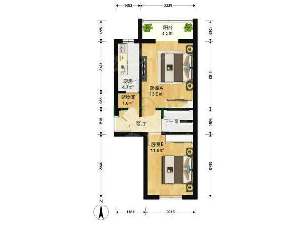 小区房子电路图