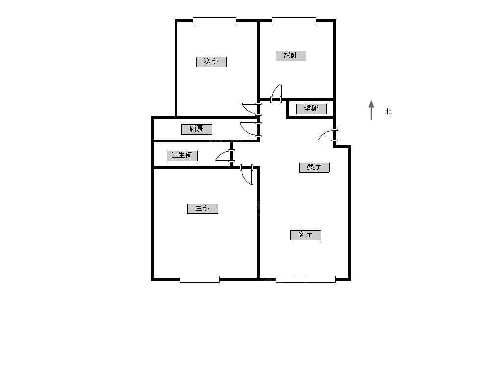 长阳半岛紫云家园怡和南路10 3室1厅1卫