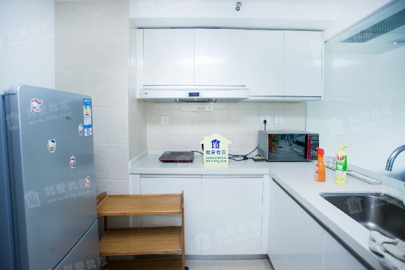 君禧华庭公寓二手房_中海八里台公寓 阳面复式 精装修