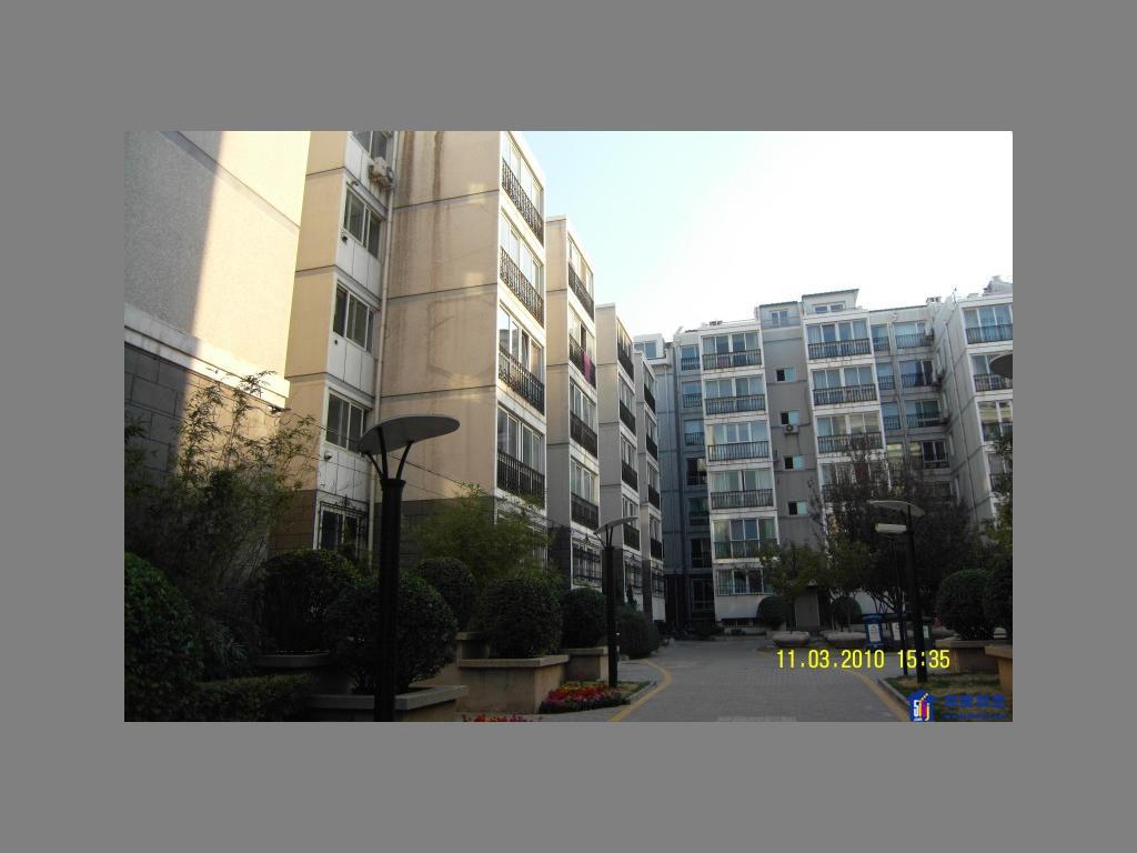 小区六层楼房立面图