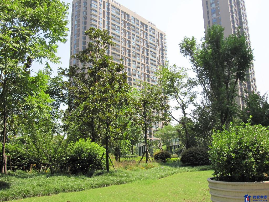 小区景观意向图-中央花城二手房 杭州中央花城房屋出售 滨江区,西