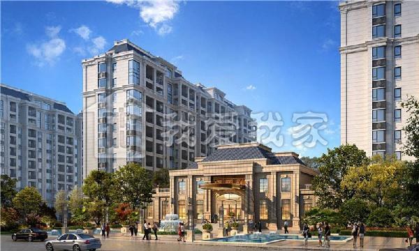 中南山锦花城图片